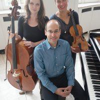 1. Kammerkonzert 2017/18, Foto: Lukas Brandt, Ausführende: Annika Spanuth, Kathrin Inbal-Bogensberger, Markus Lafleur